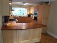 QUALITY FITTED KITCHEN FOR SALE – best offers before 1st October or sell complete @ £950
