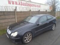 breaking for spares mercedes c220 2005 2.1 cdi