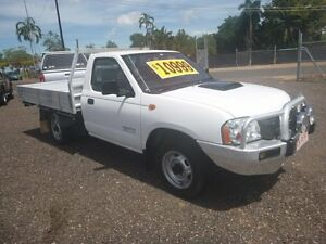 2011 Nissan Navara DX White 5 Speed Manual Cab Chassis Holtze Litchfield Area Preview
