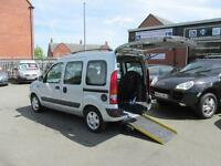 Renault Kangoo wheelchair accessible, disabled access, mobility scooter WAV