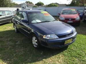 2001 Ford Laser KQ LXI Blue 5 Speed Manual Hatchback Belmont Lake Macquarie Area Preview