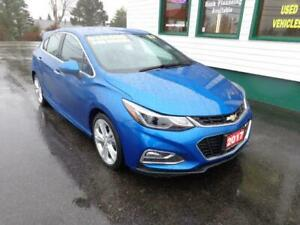 2017 Chevrolet Cruze Premier Hatch for only $166 bi-weekly!