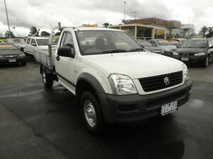 2005 Holden Rodeo RA MY05 LX Polar White 4 Speed Automatic Cab Chassis Heatherton Kingston Area Preview