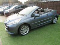 2008 Peugeot 207 CC 1.6 16v GT 2dr GREAT VALUE CABRIOLET