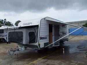 2012 CONCEPT ICON BLITZ FAMILY CARAVAN DUAL AXLE WITH SHOWER TOIL Clontarf Redcliffe Area Preview