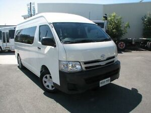 2013 Toyota Hiace TRH223R MY12 Commuter High Roof Super LWB White 4 Speed Automatic Bus Robina Gold Coast South Preview