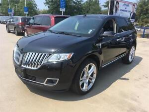 "2015 Lincoln MKX black 22"" fully loaded"