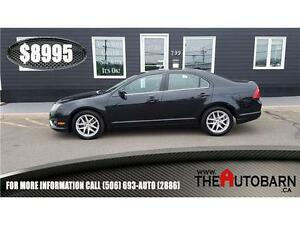 2010 FORD FUSION SEL - HEATED LEATHER SEATS - BLUETOOTH