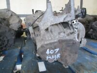 PEUGEOT 407 2.0 HDI 6 SPEED GEARBOX