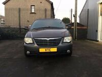 55 CHRYSLER VOYAGER 2.8 DIESEL AUTO 7 SEATER DVD PLAYER FULL LEATHER