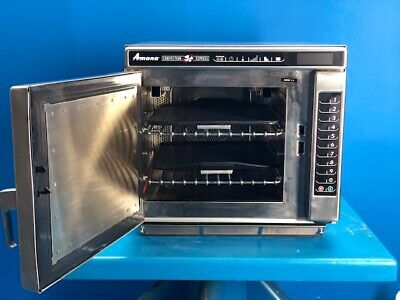 Amana Ace14 Commercial Microwave Convection Oven 208230v 3200w 1400w 2012 Yr