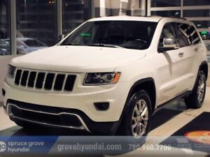 2014 Jeep Grand Cherokee LIMITED: SUNROOF, LEATHER, HEATED SEATS
