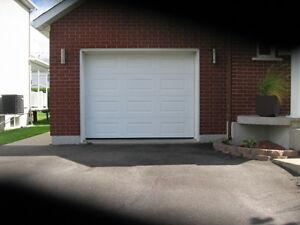 Portes de garage neuves