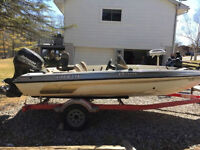 2001 Javelin Bass Boat REDUCED