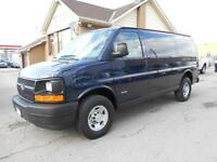 2008 CHEVROLET Express 2500HD Cargo 6.6L Duramax ONLY 35,000KMs
