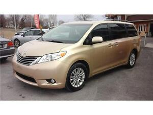 2012 Toyota Sienna XLE  (8 place)  Lecteur DVD dolby digital
