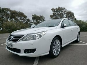 2012 Renault Latitude L43 MY12 White 6 Speed Sports Automatic Sedan Enfield Port Adelaide Area Preview