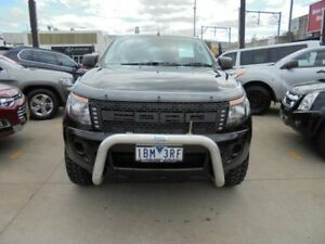 2014 Ford Ranger PX XL Hi-Rider Black Auto Sports Mode 4D Utility