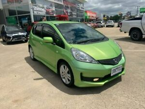 2012 Honda Jazz GE MY12 VTi-S Green 5 Speed Sports Automatic Hatchback Hoppers Crossing Wyndham Area Preview