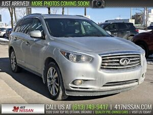 2014 Infiniti QX60 | Navi, Leather, Dual Sunroof,