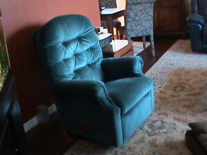 genuine Lazy Boy rocker/swivel recliner