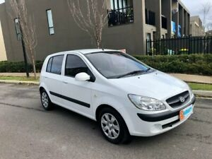 2011 Hyundai Getz TB MY09 S White 4 Speed Automatic Hatchback Maidstone Maribyrnong Area Preview