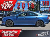 2010 Ford Fusion Sport W/ Heated Leather-Sunroof-AWD