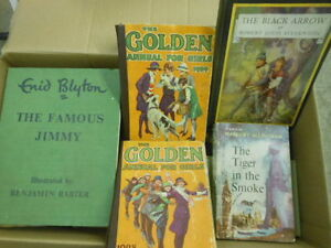 enid blyton, boys' & girls' annuals and others