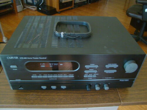 CARVER HTR-880 Home Theater Stereo Receiver Tested Great Working Condition