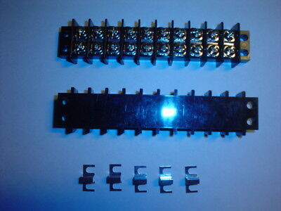 Top Quality Tyco 10 Position Terminal Block Barrier And Jumper Set