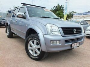 2003 Holden Rodeo RA LT Crew Cab Silver 5 Speed Manual Utility Rosslea Townsville City Preview
