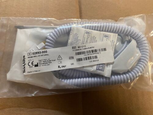 WELCH ALLYN PROBE WELL KIT 4FT, ORAL FOR SURETEMP THERM #02893-000