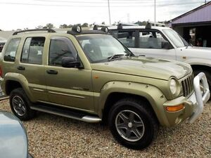 2003 Jeep Cherokee KJ Renegade (4x4) Gold 5 Speed Automatic Wagon North St Marys Penrith Area Preview