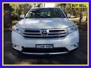 2011 Toyota Kluger GSU45R MY11 KX-S White Sports Automatic Wagon Lansvale Liverpool Area Preview