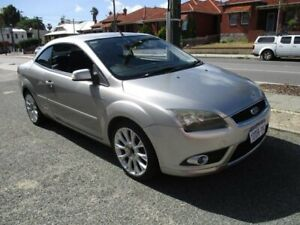 2007 Ford Focus LT Coupe Cabriolet Silver 5 Speed Manual Convertible West Perth Perth City Area Preview