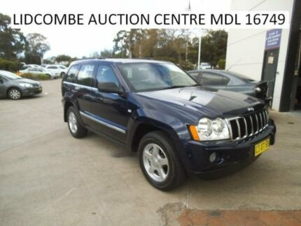 2006 Jeep Grand Cherokee Limited Blue Automatic Wagon
