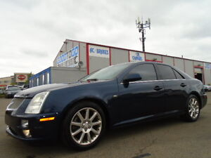 2005 Cadillac STS4-AWD-V8-NAVI-LEATHER-SUNROOF-REMOTE STARTER