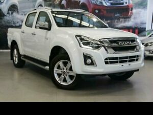 2018 Isuzu D-MAX MY18 LS-T Crew Cab 4x2 High Ride Splash White 6 Speed Sports Automatic Utility Rockingham Rockingham Area Preview