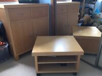 Chest of drawers & TV unit