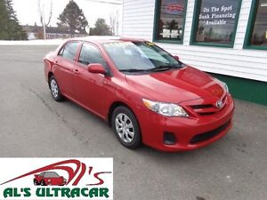2013 Toyota Corolla CE w/ A/C, keyless entry & MORE!