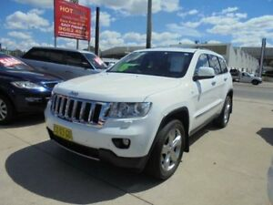 2012 Jeep Grand Cherokee WK MY2013 Overland White 5 Speed Automatic Wagon
