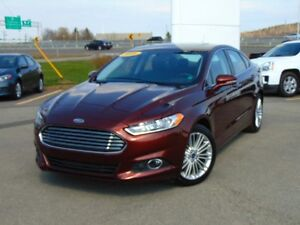 2016 Ford Fusion SE Leather, Memory Seat, Push-Button Start, Nav
