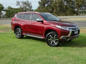 2018 Mitsubishi Pajero Sport QE MY18 Exceed Red 8 Speed Sports Automatic Wagon Wangara Wanneroo Area Preview
