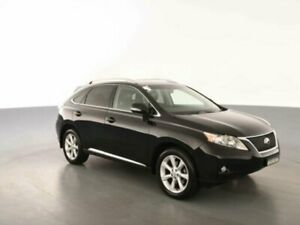 2009 Lexus RX350 GGL15R Sports Luxury Onyx 6 Speed Automatic Wagon