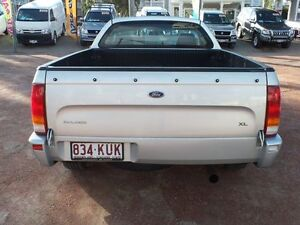 2005 Ford Falcon BF XLS Super Cab Silver 4 Speed Sports Automatic Cab Chassis Rosslea Townsville City Preview