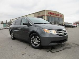 2013 Honda Odyssey EX 8 PASS. BT, ALLOYS, P. SLIDERS, 80K!