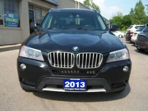 2013 BMW X3 AWD 4dr 2.8i Pano Roof/Leather