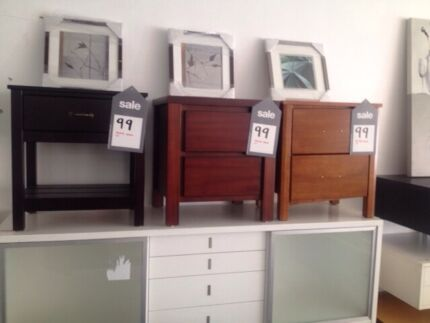 BEDSIDE TABLES - 50-70% OFF RRP Melbourne CBD Melbourne City Preview