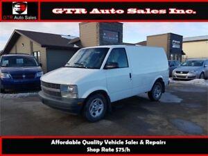 Chevrolet Astro Cargo Van *AWD*LOW KM*MECHANICALLY GREAT*CLEAN*