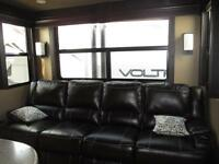 New 2016 Voltage 3305 Toy Hauler Fifth Wheel